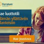 Ferratum Joustava – Lainaa alle 5 minuutissa.