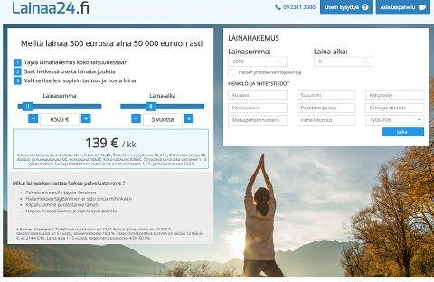 Saat aina halvinta valmiiksi kilpailutettua pankkilainaa 500 - 50.000 euroa!