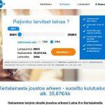 Laina.fi – Kertalaina netistä edullisesti.