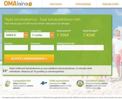 Omalaina.fi - laadukas laina on joka miehen ja naisen luotto.