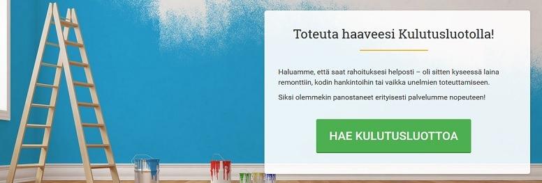 Rahoitus, jolla toteutat haaveet helposti löytyy Lainasto.fi osoitteesta.